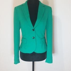 H&M green blazer. Size 4